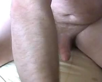 I love fisting my wife's constricted bawdy cleft in front of a camera