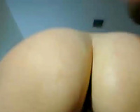 Busty mother I'd like to fuck masturbating with marital-device and engulfing my knob
