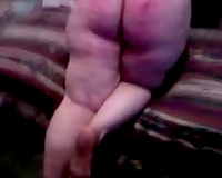 Busty chunky non-professional cougar dirty slut wife well done after sex games in daybed