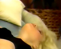 Busty spunky blondie acquires nailed by experienced paramour