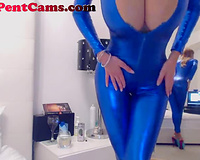This excited livecam model is a female-dom made real and this babe likes engulfing her marital-device