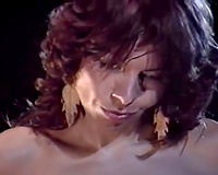 Vintage porn compilation with breasty brunette hair and whorish babe