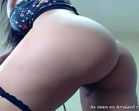 Just charming large breasted livecam sexpot disrobes and goes solo