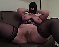 Masked wild huge bottomed livecam mother I'd like to fuck in dark nylons was teasing slit