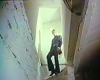 Redhead white wife receives caught and bound up in the basement