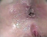 Sensual rectal hole pounding and anal creampie of my curvy black cock sluts