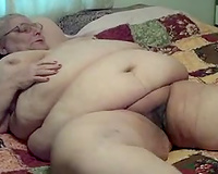 Horny guy bonks my chunky big beautiful woman mature slutwife missionary style