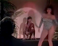 Retro sex compilation with breasty brunette hair and redhead stripper