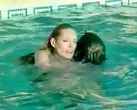 Great oral-stimulation from excited 18 year old playgirl in the swimming pool