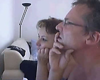 Mature pair getting perverted on the livecam chat with me