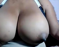 Amazing solo with my curvy paramour masturbating her hairless cunt