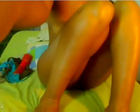 The almost any curvy swarthy sweetheart in the world in her intimate web camera show