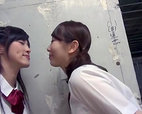 When I am with my lesbian GF giving a kiss we sometimes go insane