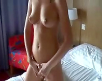 My outrageously hot European girlfriend Angelika showing her body