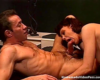Double penetration act for smutty Serenity and her hubby
