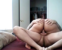 My big-assed older spouse jumps on my knob and moans with fun