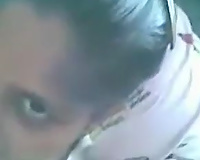 Indian amateur dark head did her superlatively good whilst engulfing her dude dry