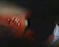 Just spying on a cute Asian college slutwife blowing her boyfriend