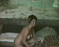 Big breasted housewife with light haired acquires nailed doggy style
