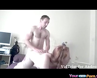 Redhead Tapes Herself Fucking On Her Android Phone