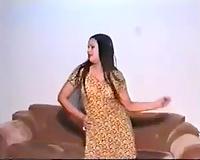 Freaky and bosomy Pakistani chick shows off her nice-looking marangos