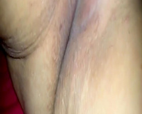 My fat older Married slut pleases herself with fingers in front of me
