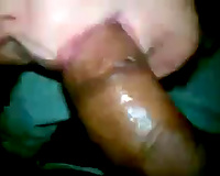 Cute white playgirl takes swarthy big wang in her sexy mouth