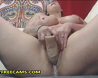 Cum Covered BBW Slut