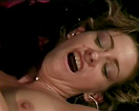 Steamy interracial fuck featuring blond honey and black buddy