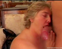 Slutty granny does it afresh with her neighbour