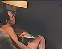 Busty French milf rides on a hard wang of her fuck ally