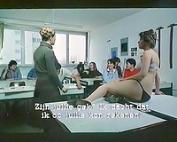 Vintage porn compilation with lustful teacher and 3 harlots