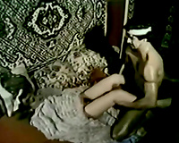 Hairy fellow fucking this vintage milf in missionary style