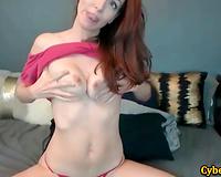 Beautiful Fitness Slut with Huge Clit