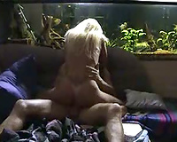 Hubby and white bitch
