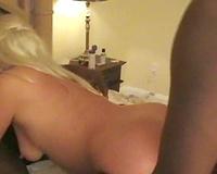 Blonde Bitch Threesome