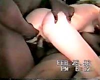 Cuckold Slut Wife Loves Getting Dped By two Big Black Cocks