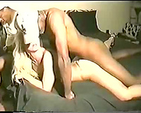 Blonde Slut Wife Gets Gang Banged