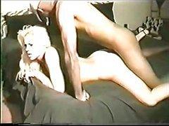 Blonde Slut Wife Gets Gang Banged