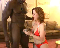 Dirty Red Head Slut Gets Fucked All Over The Room