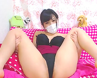 Super hawt Japanese slutwife stripping on web camera to tease me