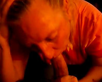 Old and impure white cheating wife gives me head on POV freaky sex tape