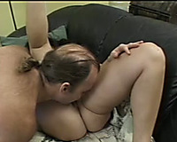 That brutal and tough dude copulates a cute brunette sweetheart