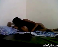 Homemade movie of Indian couple having missionary style sex