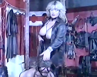Two whorish sweetheart love dominating and fucking coarse