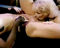 Two men with large dongs lovely this wild classic slut