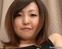 Redhead uncomplaining Japanese whore shows her cunt and deepthroats small unshaved dick
