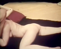 Amazing lesbo fuckfest with white hairy harlots and strapons