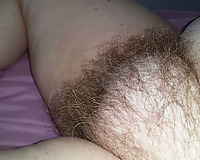 Neighbor taped greatly unattractive hirsute fur pie of his likewise chunky wifey