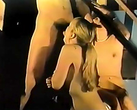 That vintage whore is turned on for engulfing a weenie of a freak